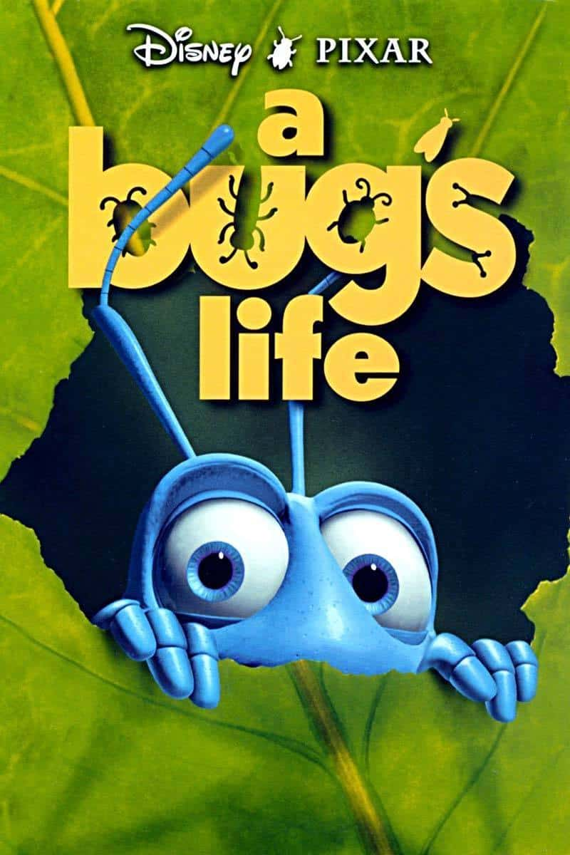It is a graphic of Versatile A Bug's Life Poster