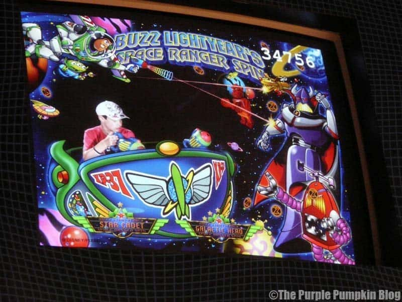 Buzz Lightyear's Space Ranger Spin - Magic Kingdom