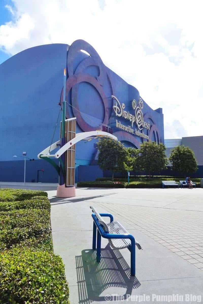 Disney Alphabet Q - DisneyQuest