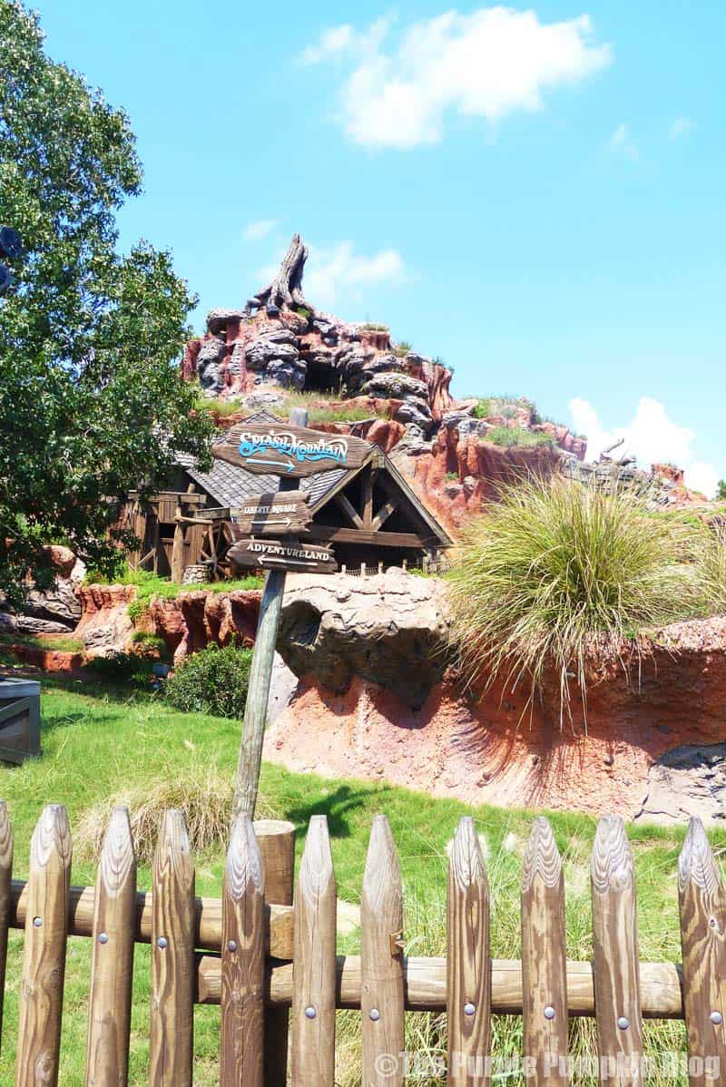 Disney Alphabet S - Splash Mountain
