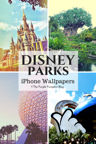 Disney Parks iPhone Wallpapers
