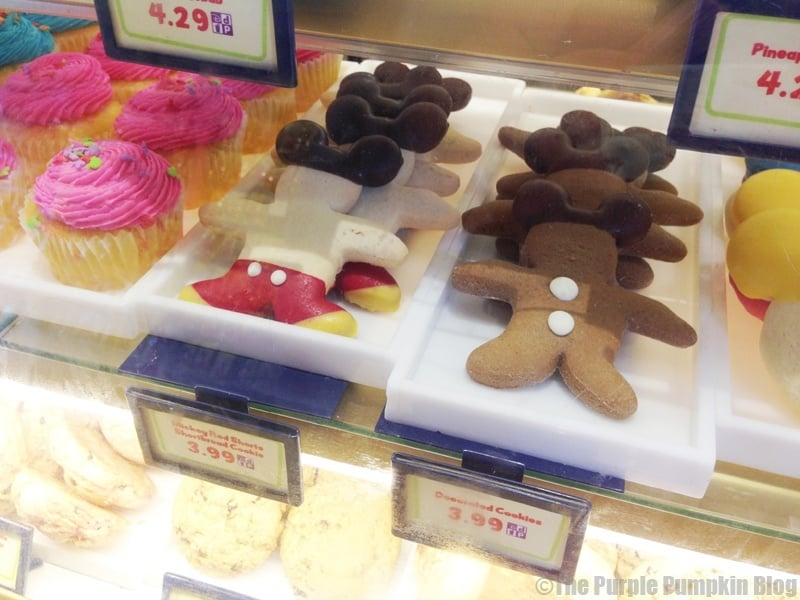 Disney Snacks - Mickey Gingerbread