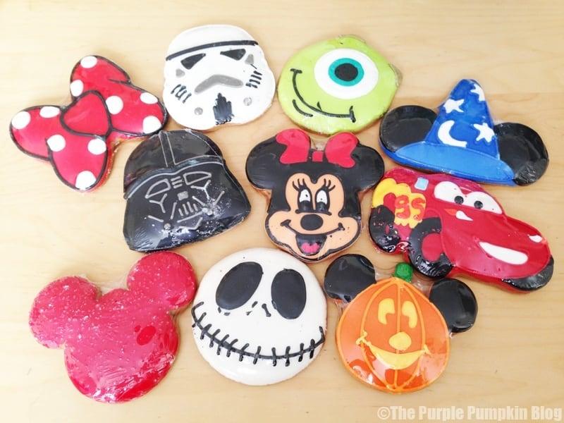Disney Snacks - Disney Character Cookies