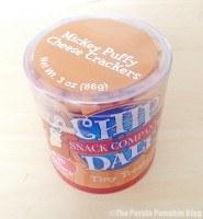 Disney Snacks - Chip'n' Dale Cheese Crackers