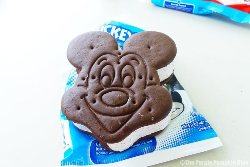 Disney Snacks - Mickey Ice-Cream Sandwich