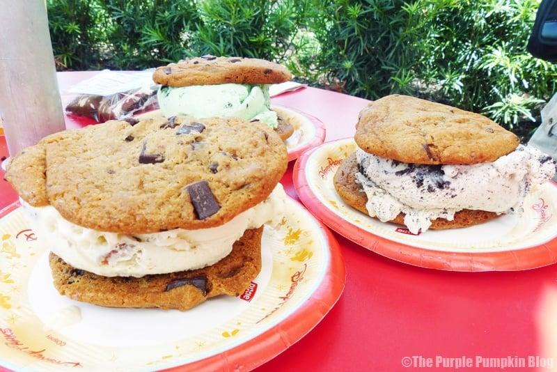 Disney Snacks - Ice-Cream Cookie Sandwich