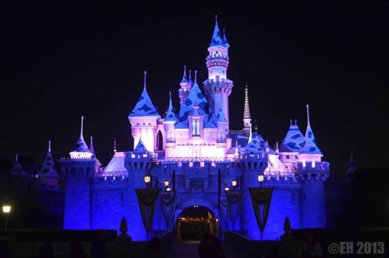 Disneyland California - Sleeping Beauty Castle