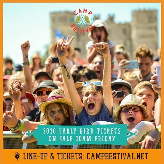 Early Bird Camp Bestival 2016 Tickets