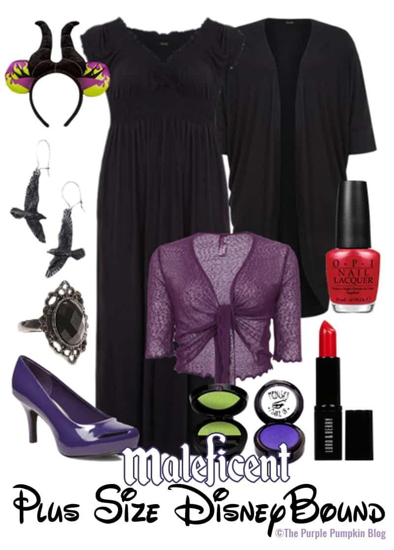 Maleficent - Plus-Size DisneyBound