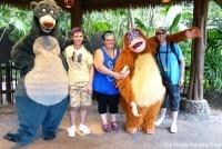 Meeting Baloo and King Louie