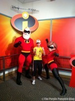 Meeting Mr and Mrs Incredible at Hollywood Studios