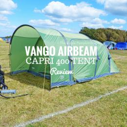 Vango Airbeam Capri 400 Tent