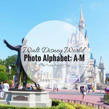 Walt Disney World Alphabet A-M