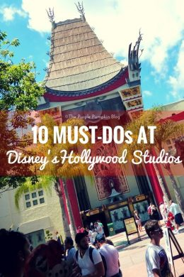 10 Must-Dos at Disneys Hollywood Studios - must pin this for our next trip!