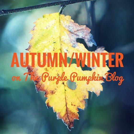 Autumn Winter on The Purple Pumpkin Blog