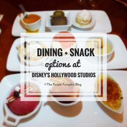 Dining + Snack Options at Disneys Hollywood Studios