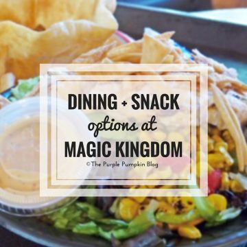 Dining Snack Options at Disneys Magic Kingdom. Never be stuck for where to eat at this theme park ever again!