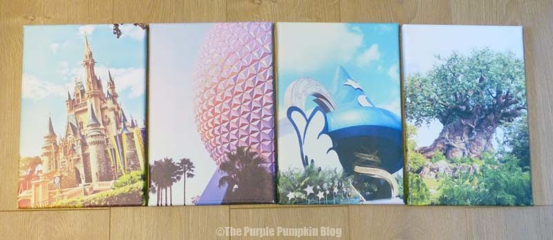 Luxury Disney Parks Canvas Wall Art