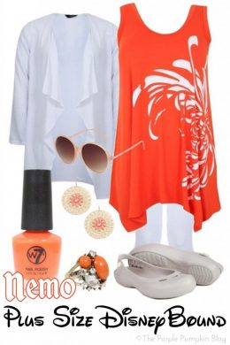 Nemo - Plus-Size DisneyBound