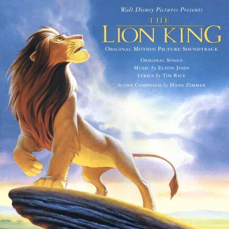 The Lion King Soundtrack CD