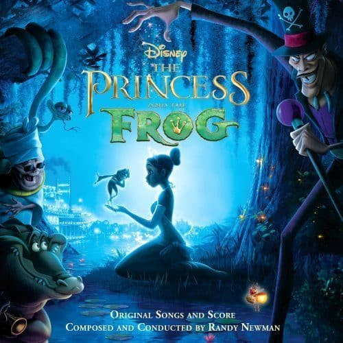 The Princess and the Frog CD