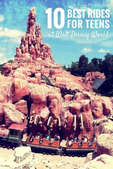 10 Best Rides For Teens At Walt Disney World
