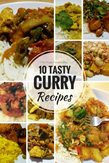 10 Tasty Curry Recipes - National Curry Week
