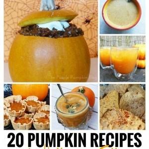 20 Pumpkin Recipes for Halloween + Fall