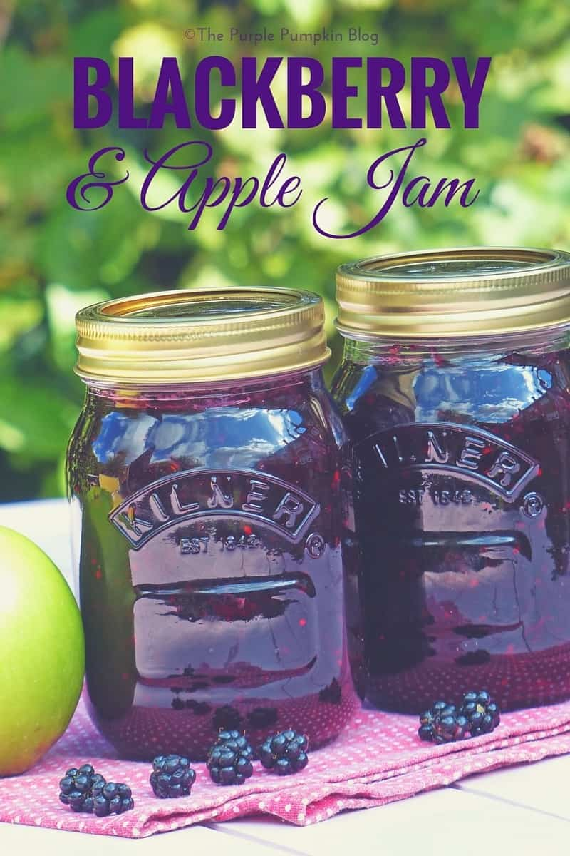 Blackberry   Apple Jam - so easy to make, and great for using a glut of fruit from your garden!