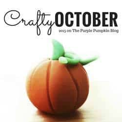 Crafty October 2015 on The Purple Pumpkin Blog Button