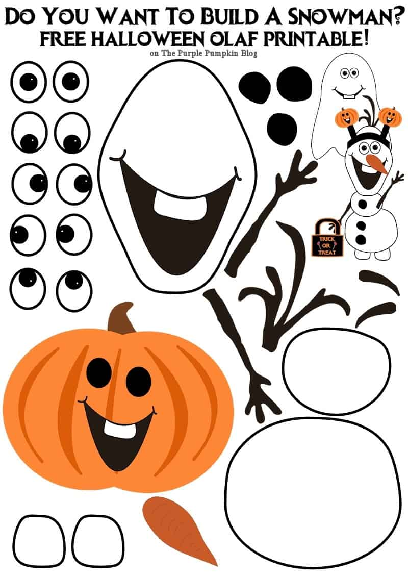 Do you want to build an olaf halloween edition for What do u need to build a house