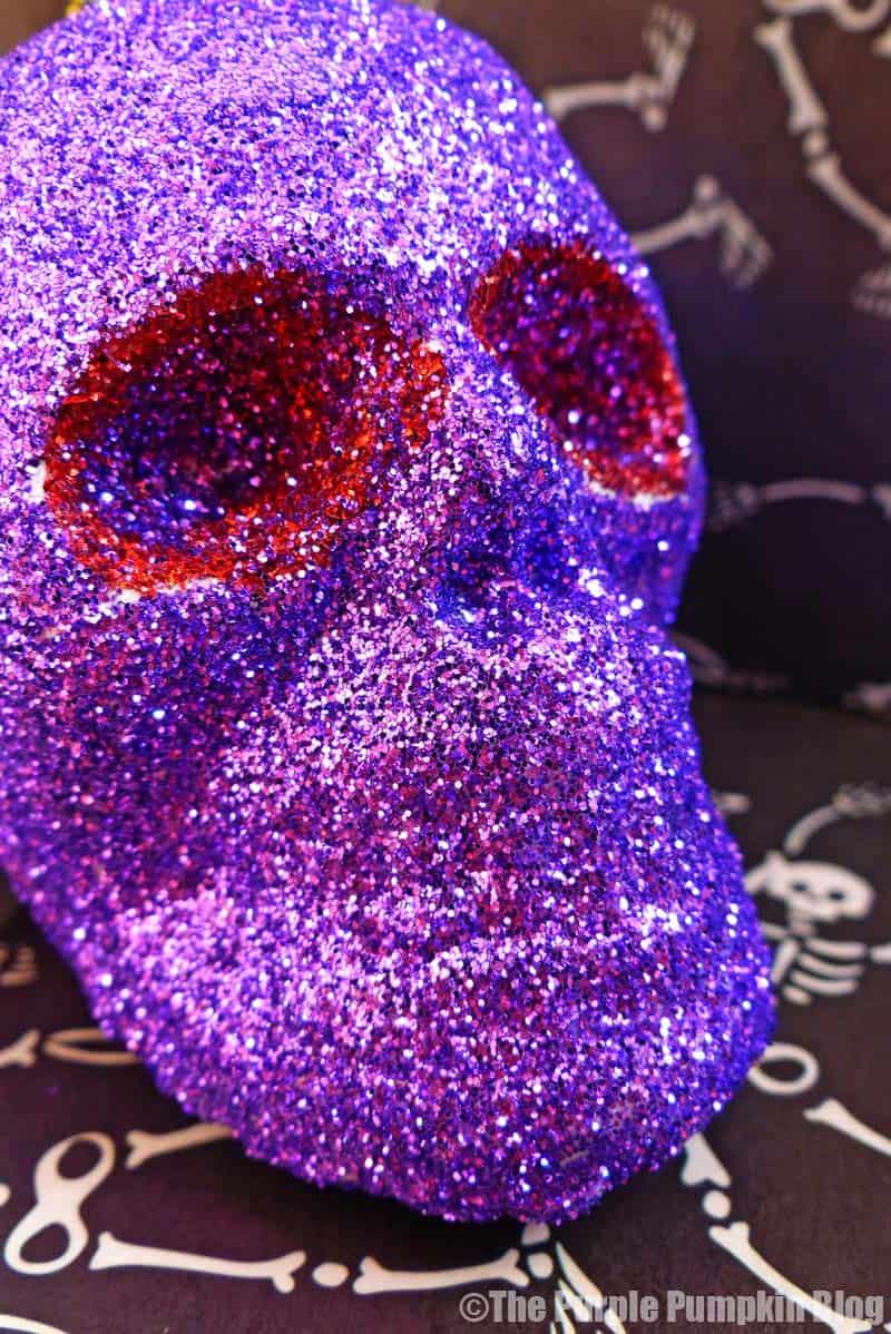 Glitter Skulls