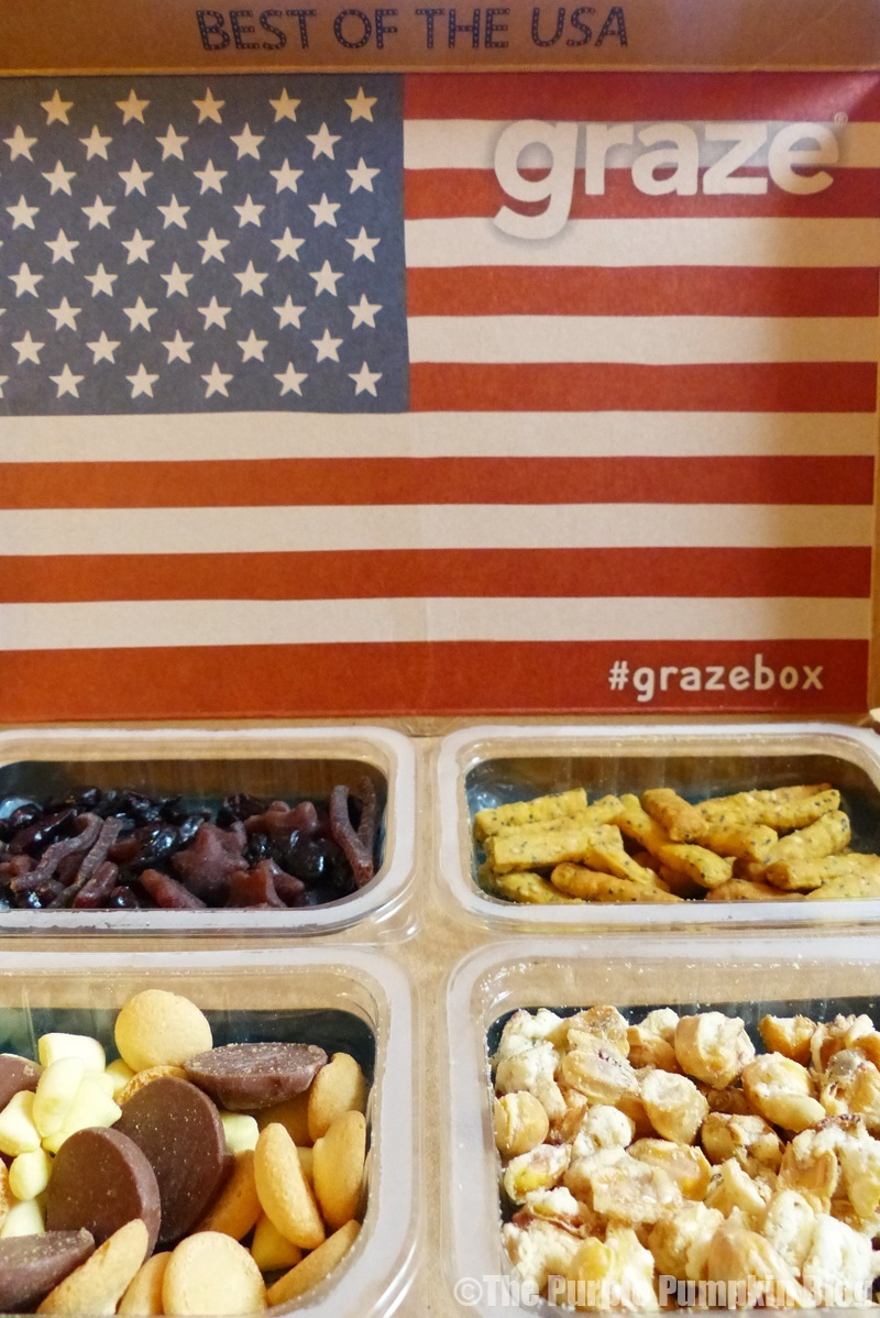 "Review – Graze USA. March 13, March 13, • leelscooks. We've been dieting/eating healthy properly for the past 4 or so months. I've been on the lookout for some snacks that are interesting but ""cheap"" in regards to calories. As you know there are 8 million different sub boxes, snack boxes etc. So I wanted to try and find."