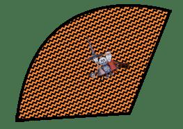 Halloween Popcorn Cones - The Nightmare Before Christmas - Lock Shock Barrel