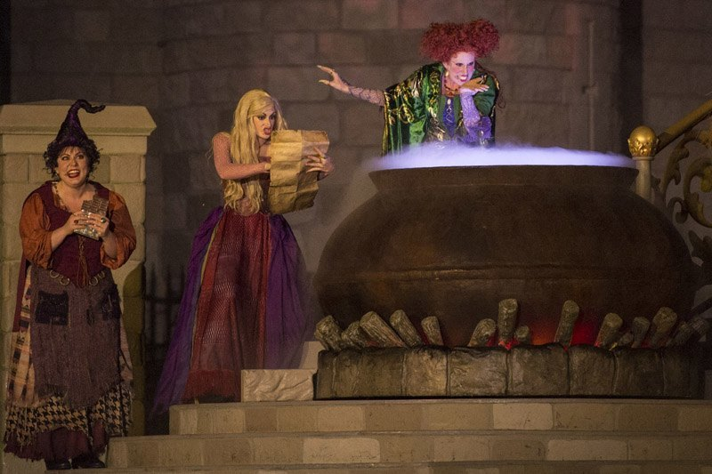 New'Hocus Pocus Villain Spelltacular' Show during Mickey's Not-So-Scary Halloween Party