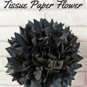 How To Make A Tissue Paper Flower