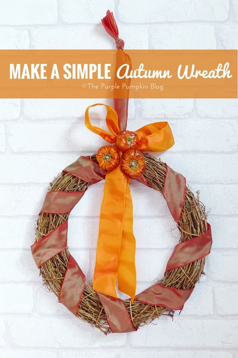 How To Make An Autumn Leaf Wreath – Crafty October Day 13