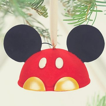 Mickey Ears Christmas Ornaments