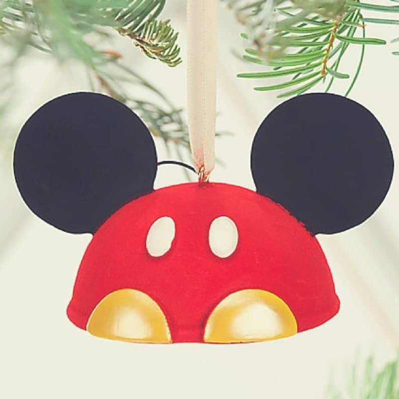Mickey Ears Christmas Ornaments