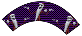 Nightmare Before Christmas - Jack Skellington Santa - Halloween Wrappers