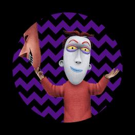 Nightmare Before Christmas - Lock - Halloween Toppers