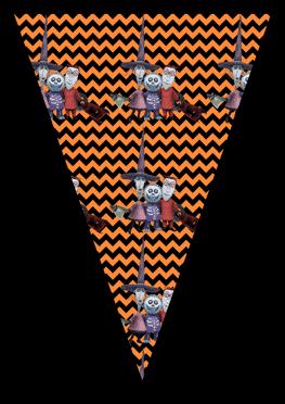 Nightmare Before Christmas - Lock Shock and Barrel - Pennants