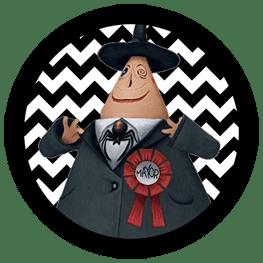 Nightmare Before Christmas - Mayor - Halloween Toppers