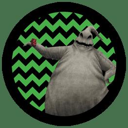 Nightmare Before Christmas - Oogie Boogie - Halloween Toppers
