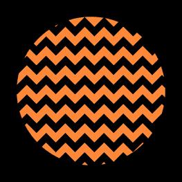 Nightmare Before Christmas - Orange - Halloween Toppers