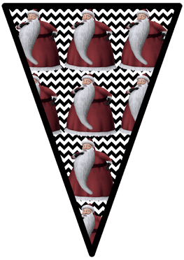 Nightmare Before Christmas - Sandy Claws - Pennants