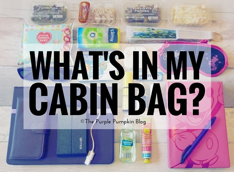 What's In My Cabin Bag?