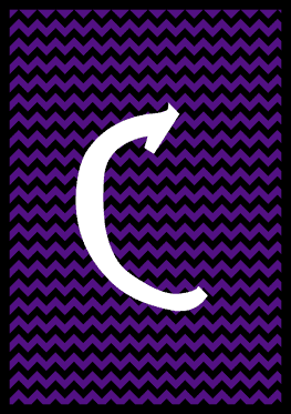 The Nightmare Before Christmas - Letter C