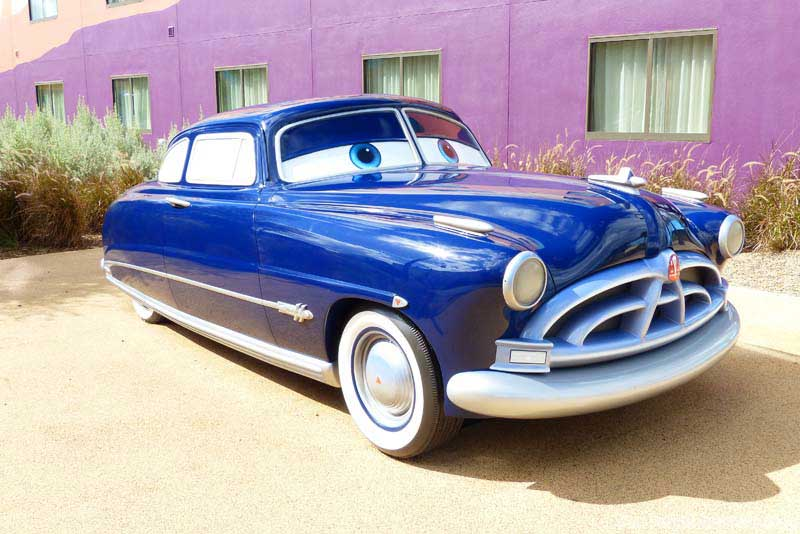 Disney cars coloring pictures - Doc Hudson Rally Drawings Car Pictures Car Canyon
