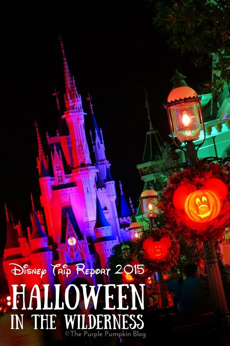 Disney Trip Report - Halloween in the Wilderness. Read about a stay at Disney's Wilderness Lodge, visits to all the Walt Disney World theme parks, Mickey's Not So Scary Halloween Party, and loads more!
